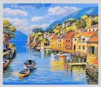 Картина за номерами + Алмазна мозайка 2в1 YHDGJ 75525 (30) 50х40см