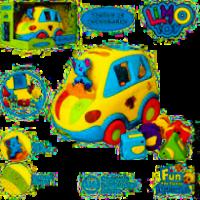 "Машинка- сортер ""Крихітка-Автошка"" Limo Toy 9198"