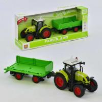 Трактор з причепом  WY900G