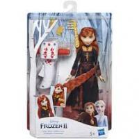 Ігровий набір Hasbro Frozen Холодне серце 2 з аксесуарами для волосся Анна (E7003)