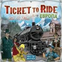 Настільна гра Hobby World Ticket to Ride: Європа