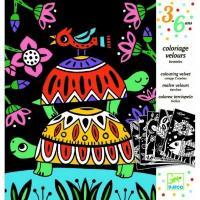 Художній комплект для малювання Djeco Забавні тварини (DJ09624)