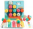 Розвиваюча іграшка Top Bright Складна мозаїка і шнурівка (120450)