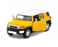 Машина металева Kinsmart TOYOTA FJ CRUISER (жовта) KT5343W