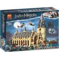 "Bela ""Harry Potter"" (11007) Великий зал Хогвартс, 938 деталей - Аналог Гаррі Поттер 75954"