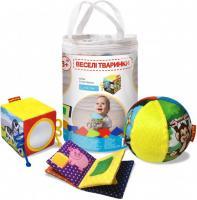 Набір іграшок Macik Веселі тварини (МС 090602-06)