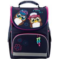 Рюкзак шкільний каркасний kite education 501-2 owls (k19-501s-2)