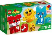 Конструктор LEGO DUPLO Мої перші домашні тварини 18 деталей (10858)