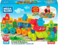 Конструктор Mega Bloks Поїзд з буквами DXH35