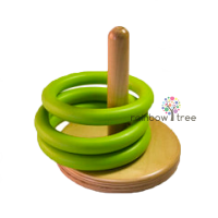 Стержень з зеленими кільцями