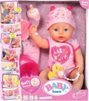 Пупс Zapf Baby Born Ніжні обійми Чарівне малятко з аксесуарами 824368