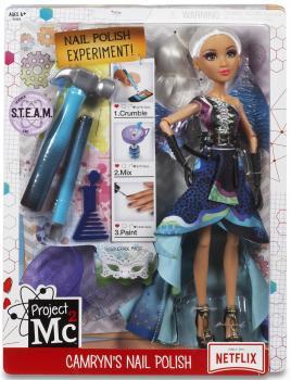 Лялечка з набором для еспрериментів