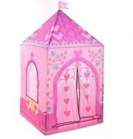 Дитячий ігровий намет Iplay замок принцеси 160х75см Рожевий (5780)