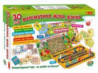 Математика, мова, логіка. 30 ігор (309302)