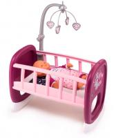 Ліжечко з мобілем для пупса Smoby Toys Baby Nurse 220328