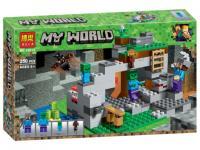 """Конструктор Bela """"Minecraft"""" (10810) Печера зомбі, 250 деталей"""