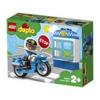 Конструктор LEGO DUPLO Поліцейський мотоцикл 8 деталей (10900)