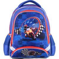 Рюкзак шкільний Kite 517 Motocross K18-517S Синій