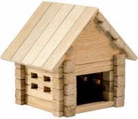 Дерев'яний конструктор Ігротеко Хатинка 39 деталей (0028)