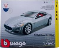 Авто-конструктор 1:24 Bburago Maserati Gran Turismo (18-25083)