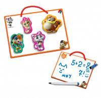 Магнiтна дошка з маркером Vladi Toys Пиши-витирай. 44 Коти (VT3601-09)