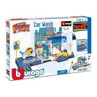 Ігровий набір Bburago Автомийка з автомоделлю 1:43 (18-30406)