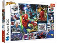Пазли  Спайдермен. / Disney Marvel Spiderman / Trefl 37391