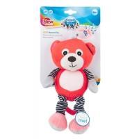 Музична іграшка-підвіска Canpol Babies Bears, кораловий (68/053)