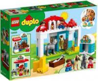 Конструктор LEGO DUPLO Стайня поні на фермі 59 деталей (10868)