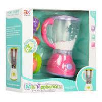 Блендер дитячий 6978A 19 см з продуктами і пінопластовими кульками