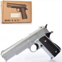 Дитячий Пістолет 1911A металевий на кульлax 22 см HN