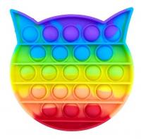 Іграшка антистрес POP IT котик