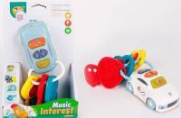 Іграшка розвиваюча Авто з ключами 855-75D
