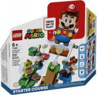 Конструктор LEGO Super Mario Пригоди з Маріо Стартовий набір (71360)