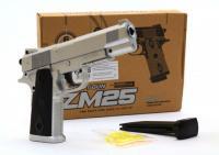 Іграшковий металевий пістолет на пластикових кульках 6мм  ZM25 L00029