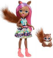 Лялька Enchantimals  Білка Санчо і Стампер  Mattel (FMT61)