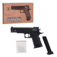 Пістолет іграшковий ZM 05 L 00021, на пульках