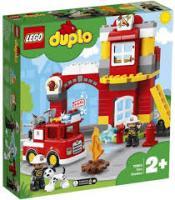 Конструктор LEGO DUPLO Пожежне депо 76 деталей (10903)