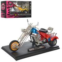 Мотоцикл HX782 1:16, 18см, на підставці