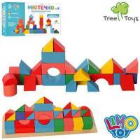 """Дерев'яна іграшка """"Містечко"""", LIMO TOY (MD2096)"""