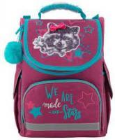 Рюкзак шкільний Kite для дівчаток Fluffy racoon 35x25x13 см 11,5 л К19-501S-3