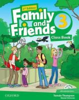 Підручник англійської мови Family and Friends (Second Edition) 3 Class Book