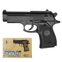 Дитячий пістолет металевий на кульках  (ZM 21) L00027