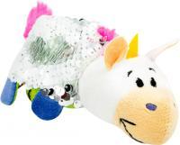 М'яка іграшка ZooPrяtki з паєтками 2 в 1 Єдиноріг-дракон 12 см (551IT-ZPR)