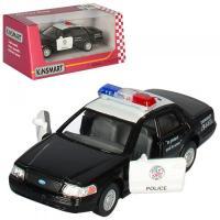 Металева інерційна машинка Ford Crown Victoria Police KT5327W Kinsmart
