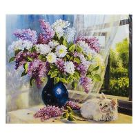 "Алмазна мозаїка ""Кошеня і ваза"" 40 * 30 см AToys (GB70509)"
