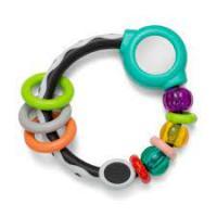 Прорізувач для зубів кільце з намистинами (005151I)