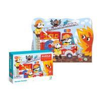 """Пазл """"Герої-пожежники"""",3+ 300372"""