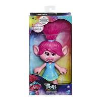 Hasbro. Фігурка Trolls 93381  Світовий тур Розочка-суперзірка зі звуковим ефектом