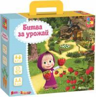 Гра настільна Vladi Toys Битва за врожай Маша і Ведмідь Рос (VT2106-04)
